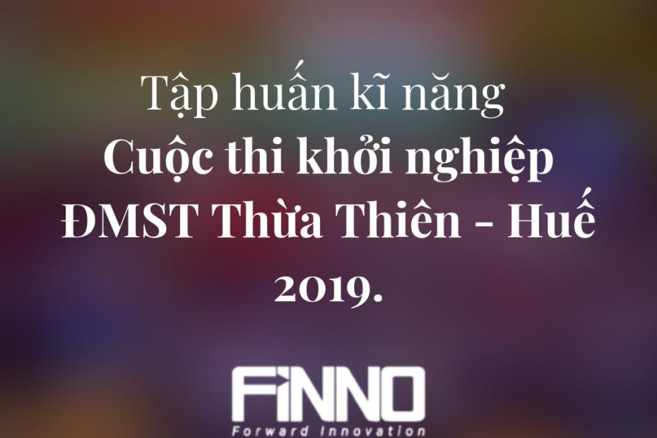 FiNNO - Kĩ năng ĐMST Huế