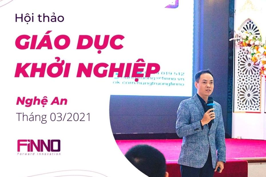FiNNO - Hội thảo Giáo dục Khởi nghiệp